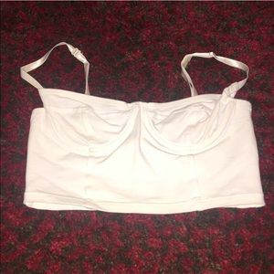 Ships Today!  American Apparel Bustier Crop